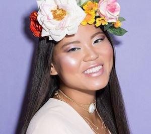 Snapchat Flower Crown Filter costume for teen girls