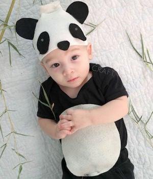 Panda Bear Baby halloween costume