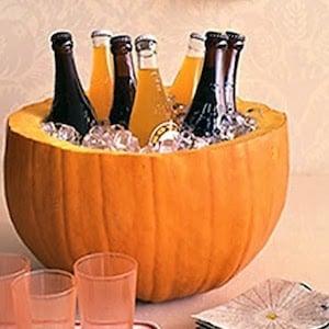 Pumpkin Beer Holder for halloween party
