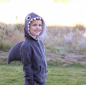 Simple Shark Costume
