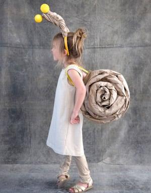 cute Snail girls Costume