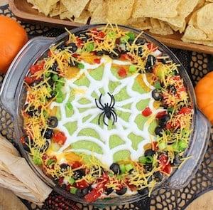 Spider Web TacoDip