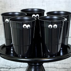 google eyes Halloween Party Cups