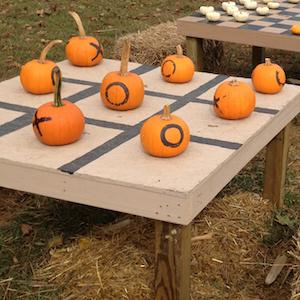 Pumpkin Tic Tack Toe