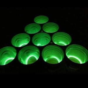 Glow in the Dark Beer Pong game