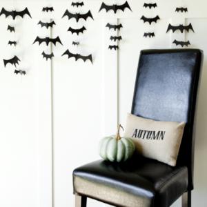 hanging Bat Garland
