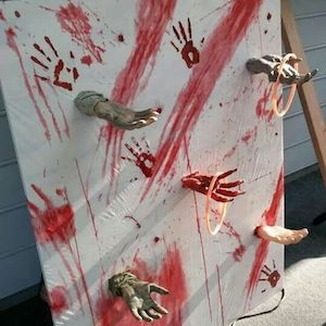 Zombie Hand Ring Toss halloween game