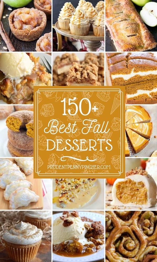 150 Best Fall Desserts