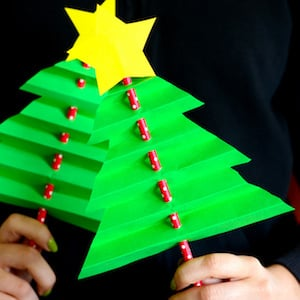 Accordion Paper Christmas Tree