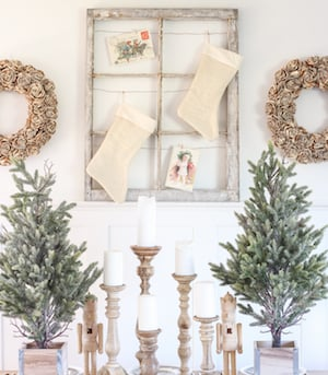 farmhouse christmas dining room from love grows wild