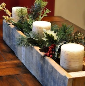 15 Rustic DIY Christmas Wreaths and Centerpieces