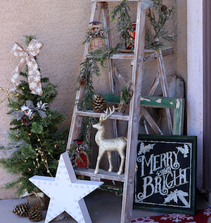 outdoor rustic glam decorations - Rustic Outdoor Christmas Decorations