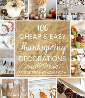 100 Cheap and Easy DIY Thanksgiving Decorations