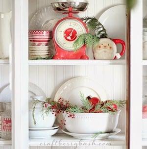 Christmas Farmhouse Kitchen Decorations