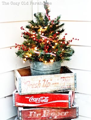 16 Outdoor Farmhouse Christmas Decorations