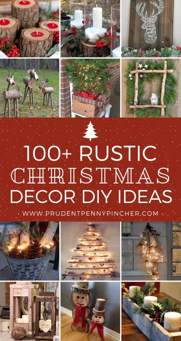 150 best rustic diy christmas decorations - Rustic Christmas Decor