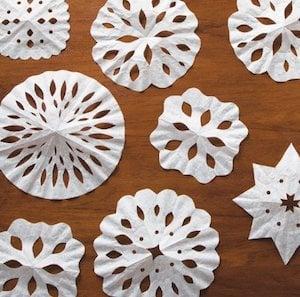 Snowflake Coffee Filters