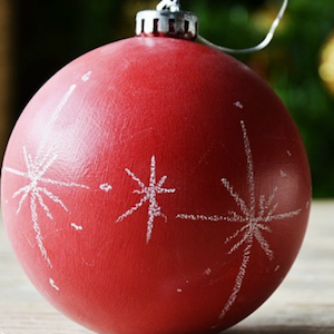 Chalkboard Ornament