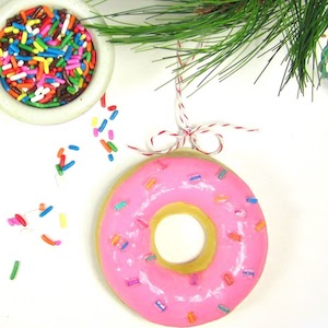 DIY Donut Ornament