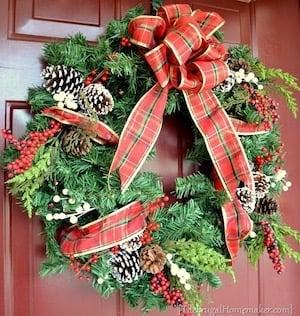 Christmas Evergreen Wreath