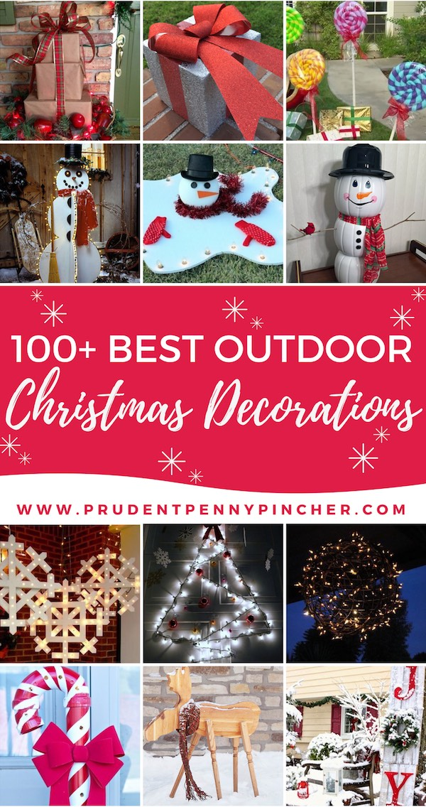 100 best outdoor diy christmas decorations - Wire Lighted Outdoor Christmas Decorations