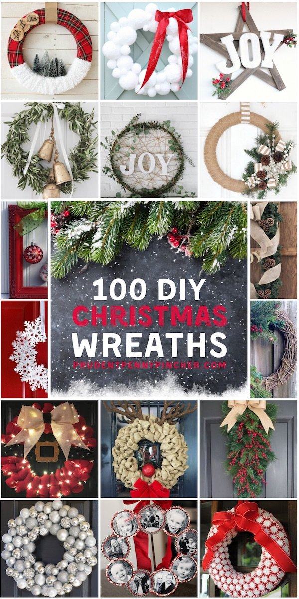Rustic Christmas Wreath Diy.100 Best Diy Christmas Wreaths Prudent Penny Pincher