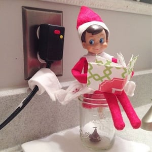 200 best elf on the shelf ideas prudent penny pincher for Elf on the shelf pooping on cookies
