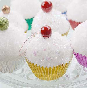 Styrofoam Ball Cupcakes
