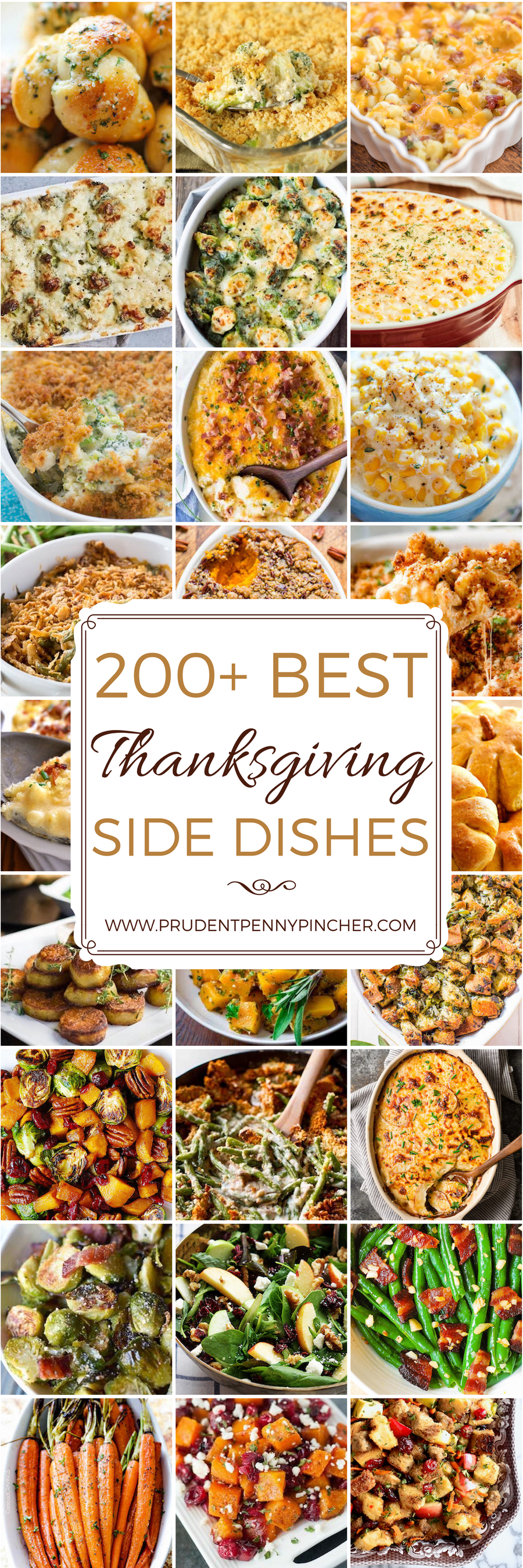 thanksgiving recipes for side dishes