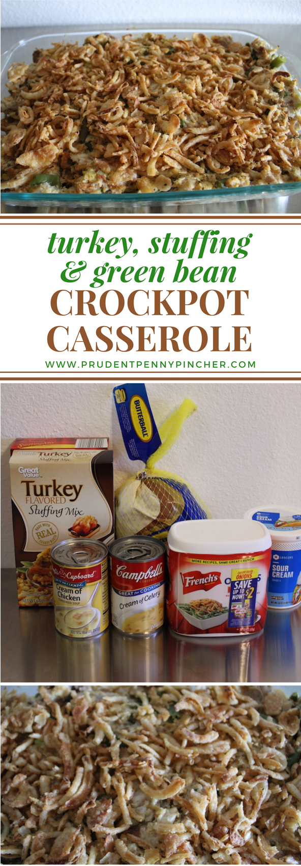 turkey, stuffing and green bean crockpot recipes