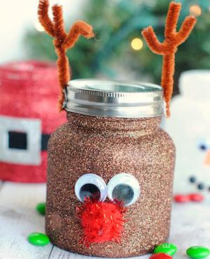 Christmas Treat Jar Craft