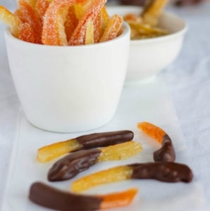 Homemade Candied Citrus Peels