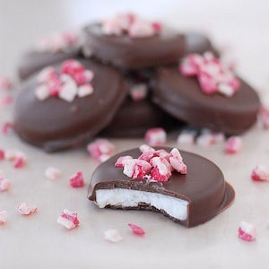Christmas Peppermint Patty Candies