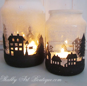 Christmas Township CandleCraft