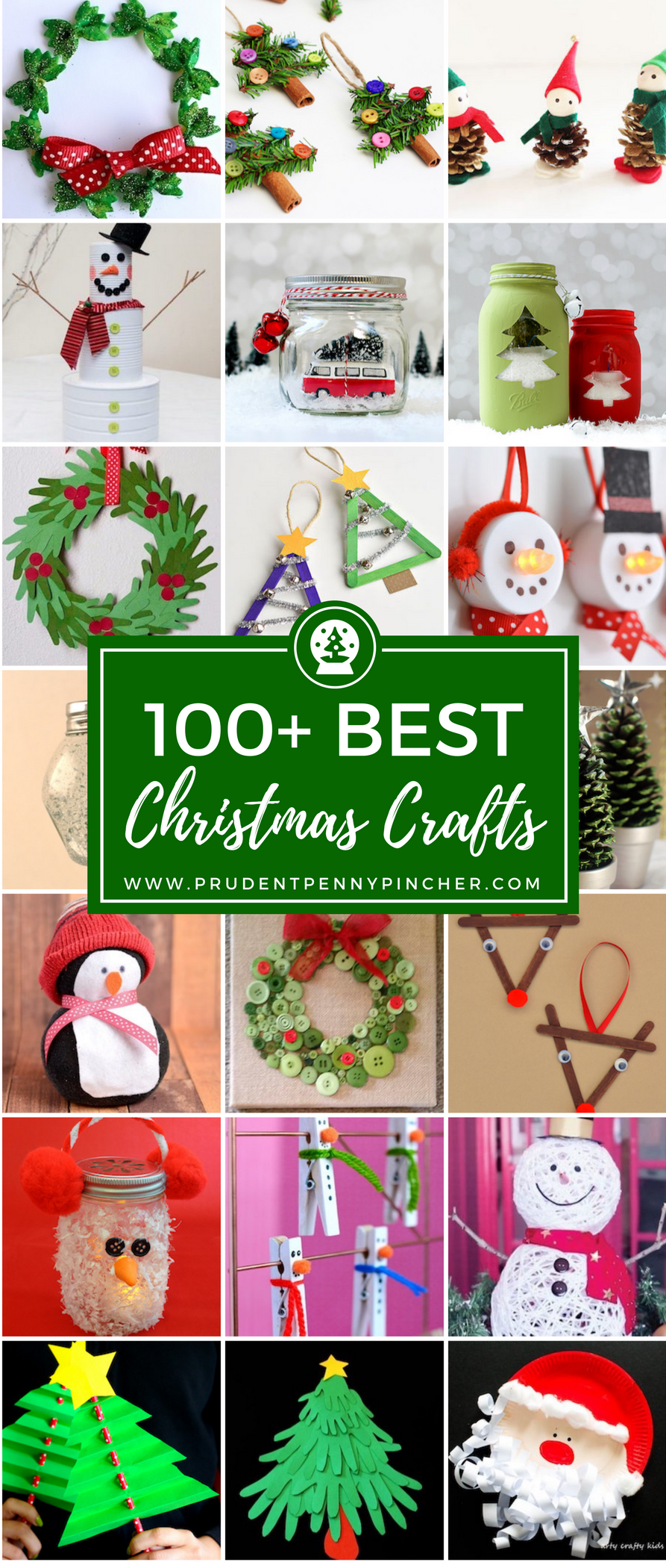 100 Best Christmas Crafts - Prudent Penny Pincher