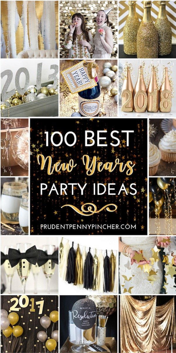 100 Best New Year S Eve Party Ideas Prudent Penny Pincher