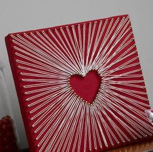 100 best valentine 39 s day decor diy ideas prudent penny pincher. Black Bedroom Furniture Sets. Home Design Ideas