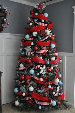 Designer Dollar Store Christmas Tree