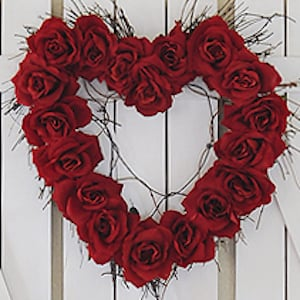 from wreaths to mantel decor and garlands there are over 100 decorations for the whole house these festive valentines day decorations will certainly make