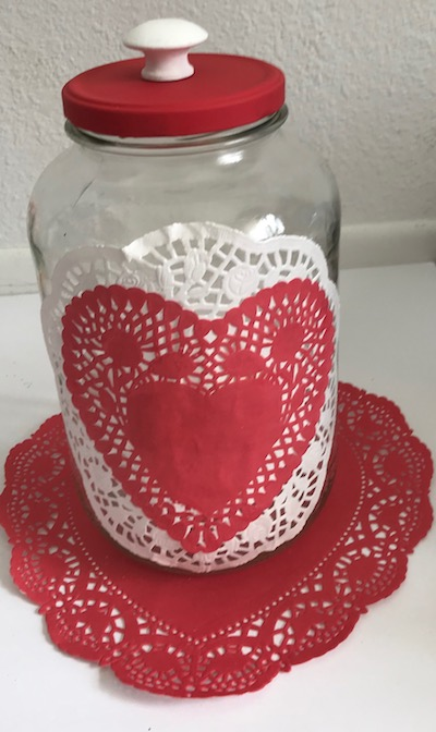 Dollar Store Valentine S Day Decor Ideas Prudent Penny Pincher
