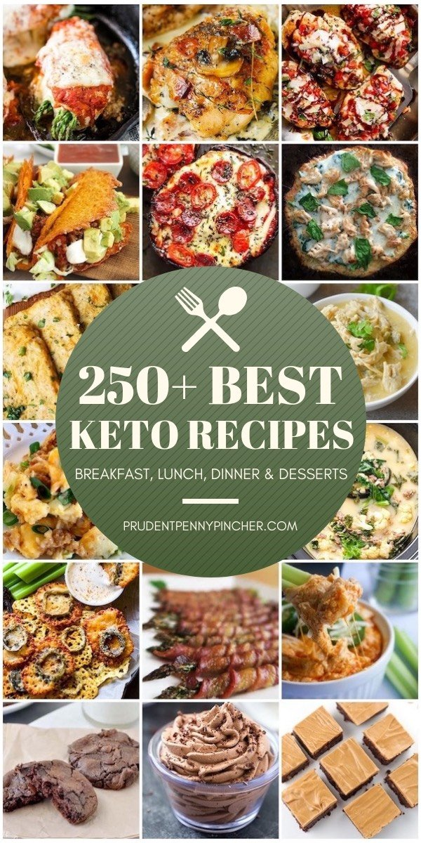 250 Best Keto Recipes