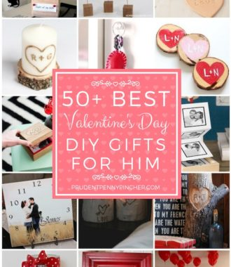 50 Best Valentine's Day DIY Gifts for Him