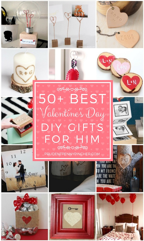50 Diy Valentines Day Gifts For Him Prudent Penny Pincher