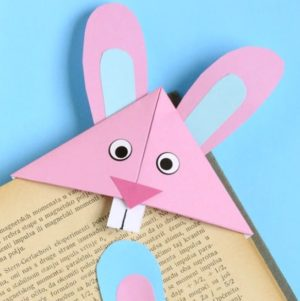 easter bunny corner bookmark adorable easter bunny corner bookmark craft for 4298