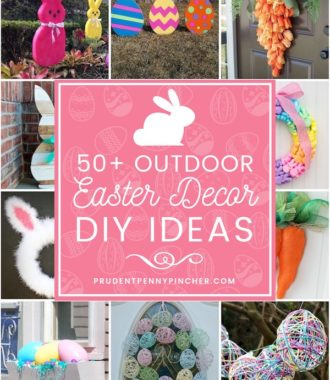 50 Best DIY Outdoor Easter Decorations