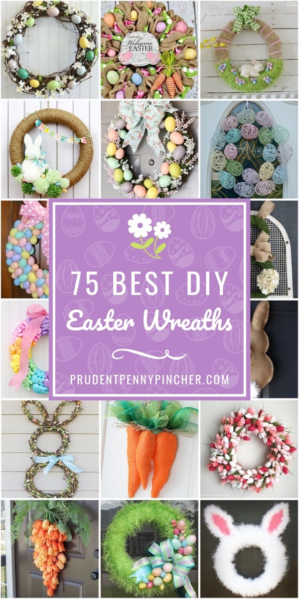 75 Best DIY Easter Wreaths