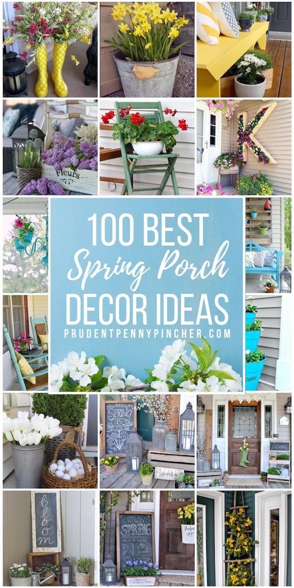 100 Best Spring Porch Decorating Ideas