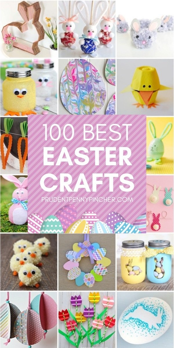 100 Best Easter Crafts Prudent Penny Pincher