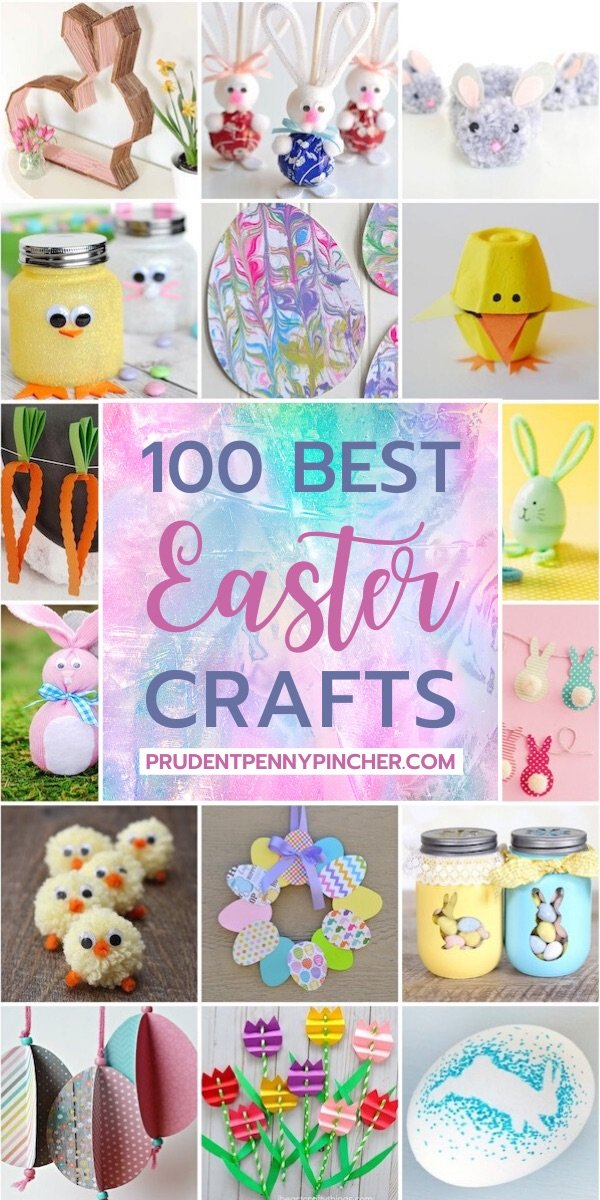 100 Best Diy Easter Crafts Prudent Penny Pincher