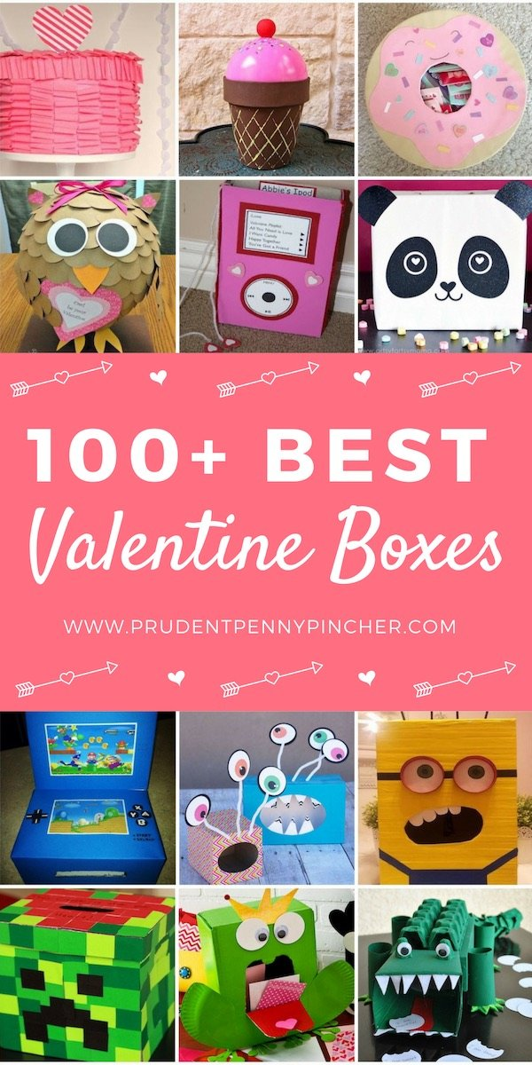 100 Best Valentine Boxes
